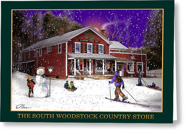 The South Woodstock Country Store Greeting Card
