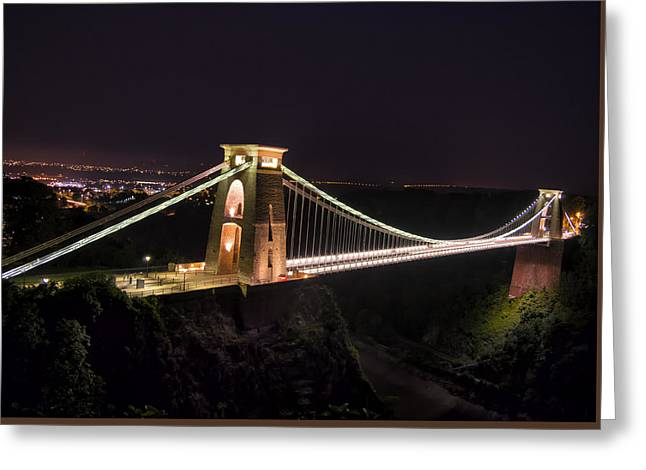The Span Greeting Card by William Hole