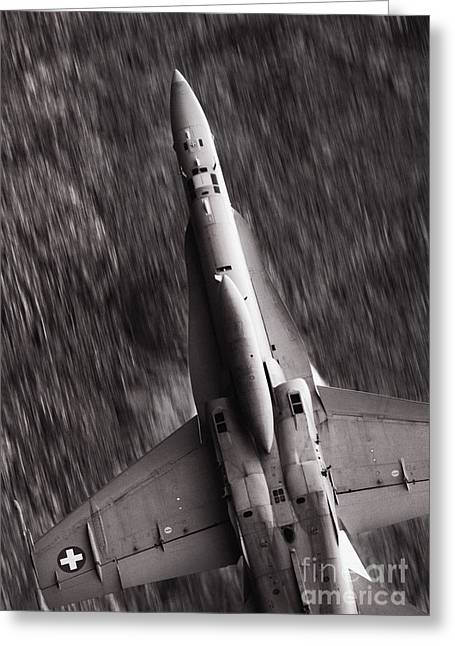 The Speed Of Sound Greeting Card by Angel  Tarantella