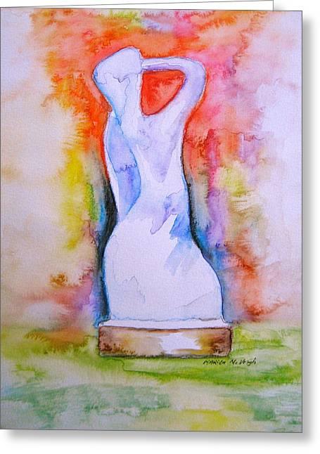 The Spirit Of Manayunk Greeting Card by Marita McVeigh