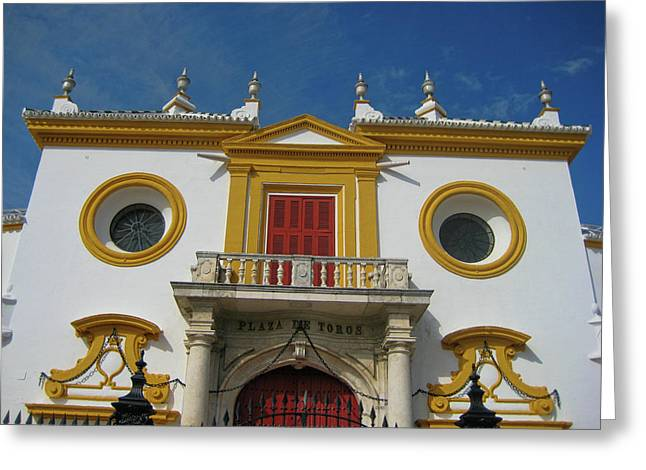 The Spirit Of Sevilla Greeting Card by JAMART Photography