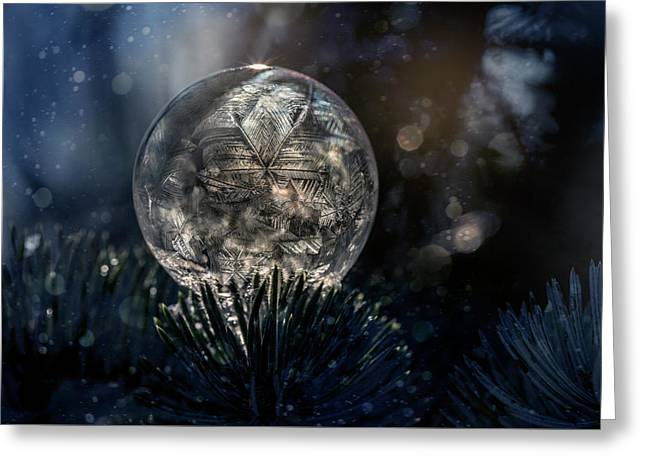 Crystal ball greeting cards page 8 of 109 fine art america the spirit of winter greeting card m4hsunfo