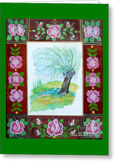 The Spring Greeting Card