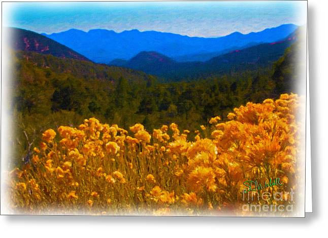 The Spring Mountains Greeting Card