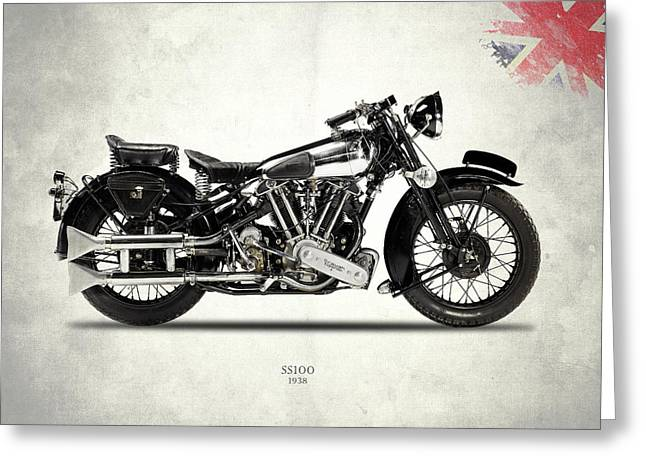 The Ss100 1938 Greeting Card by Mark Rogan