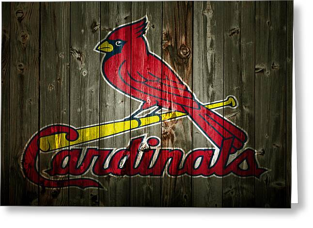 The St Louis Cardinals 2a Greeting Card