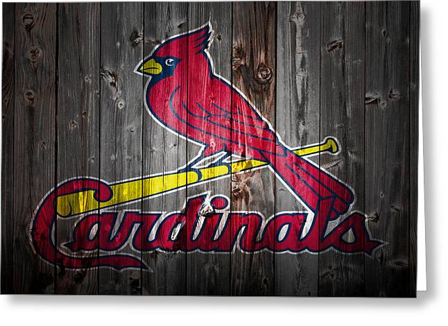 The St Louis Cardinals 2b Greeting Card