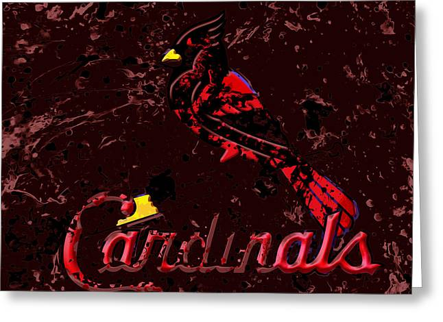 The St Louis Cardinals 6a Greeting Card