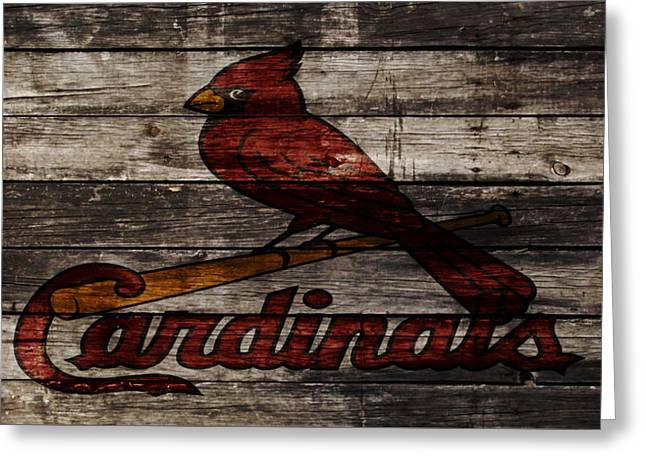 The St Louis Cardinals W1 Greeting Card