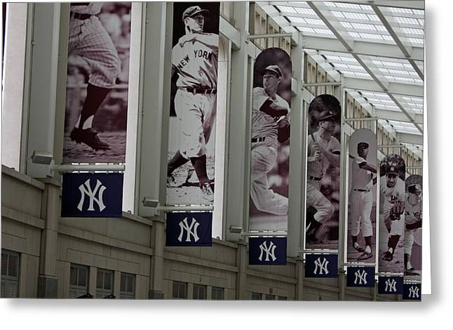 Arod Greeting Cards - The Stadium Greeting Card by Michael  Albright
