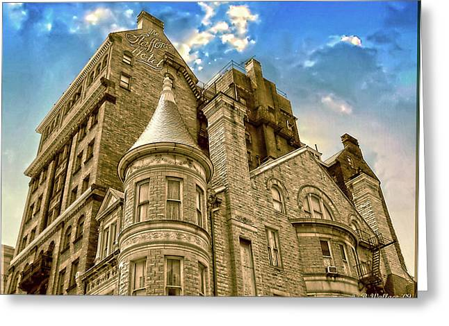 Greeting Card featuring the photograph The Stafford Hotel by Brian Wallace