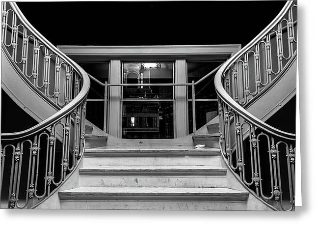 The Stairwell Greeting Card