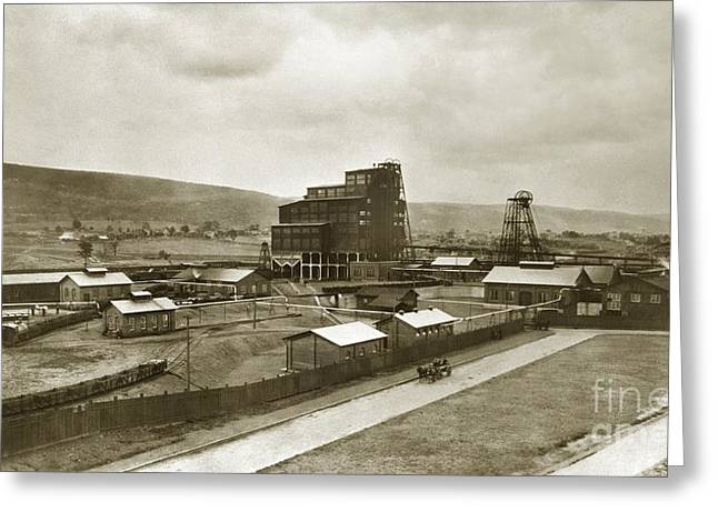 The Stanton Colliery Empire St. The Heights Wilkes Barre Pa Early 1900s Greeting Card