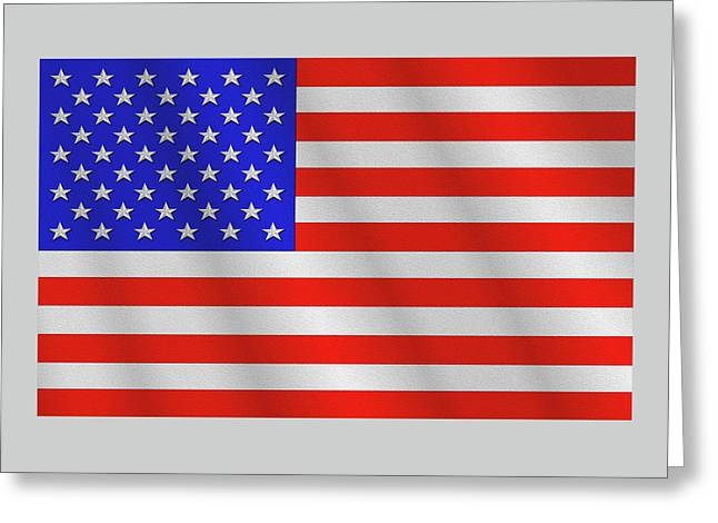The Stars And Stripes Greeting Card by Mike McGlothlen