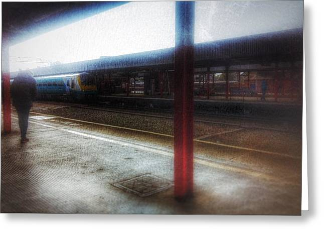 Greeting Card featuring the photograph The Station by Isabella F Abbie Shores FRSA