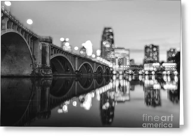 The Central Avenue Bridge Greeting Card