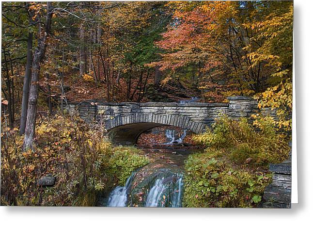 The Stone Bridge Greeting Card