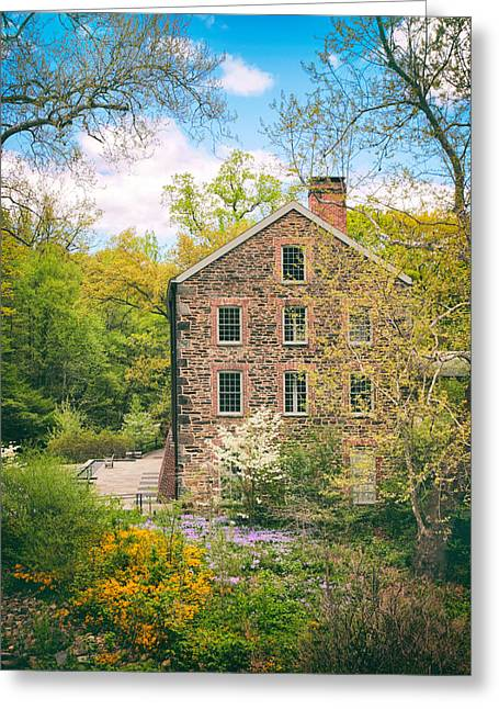 The Stone Mill In Spring Greeting Card by Jessica Jenney