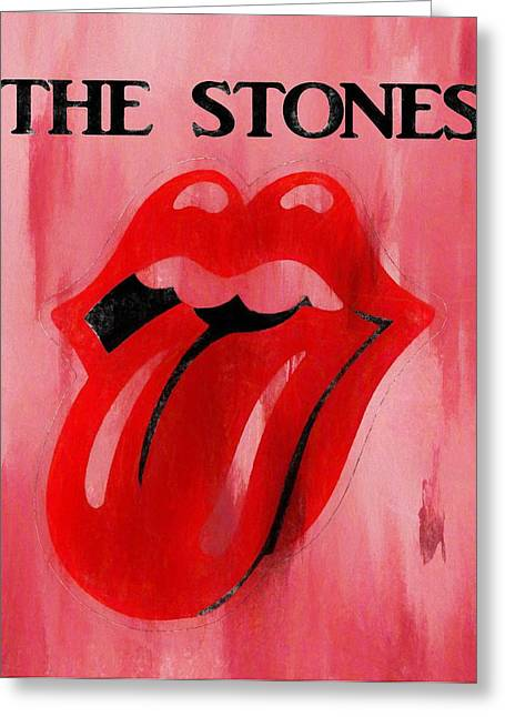 The Stones Poster Greeting Card by Dan Sproul