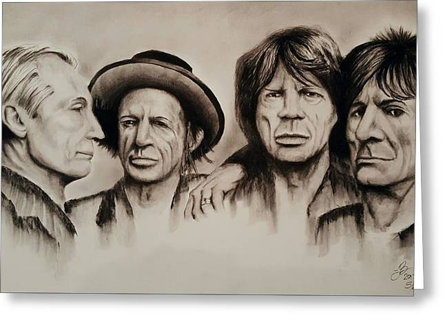The Stones Greeting Card