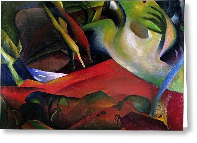 The Storm Greeting Card by August Macke