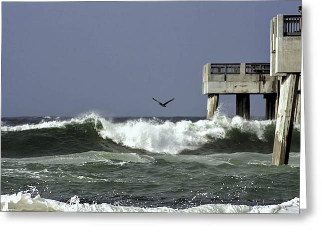 Greeting Card featuring the photograph The Storm  by Debra Forand