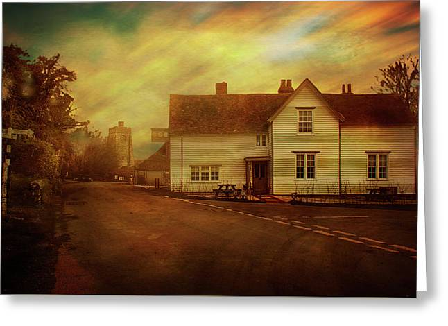 The Street Egerton Greeting Card by Dave Godden