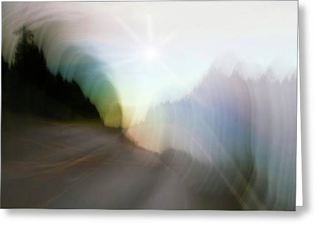 The Street Of Fantasy Greeting Card by Heiko Koehrer-Wagner