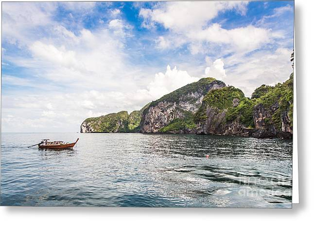 The Stunning  Koh Mook In The Trang Island Greeting Card