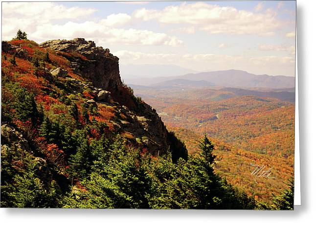Greeting Card featuring the photograph The Summit In Fall by Meta Gatschenberger