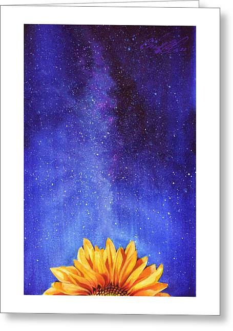 The Sun And The Stars Greeting Card by Chad Glass