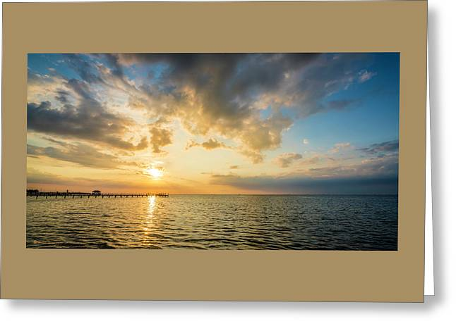 The Sun Beckons Greeting Card by Marvin Spates
