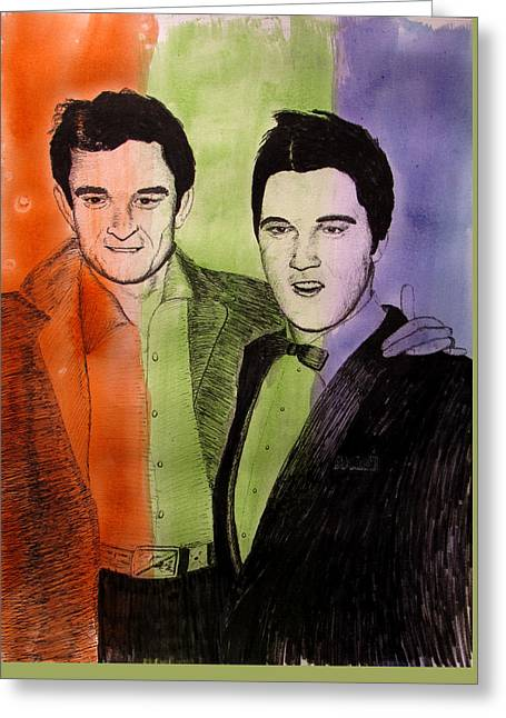 The Sun Boys Color Greeting Card by Ron Enderland