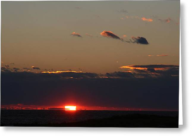 The Sunset  Greeting Card by Paul SEQUENCE Ferguson             sequence dot net