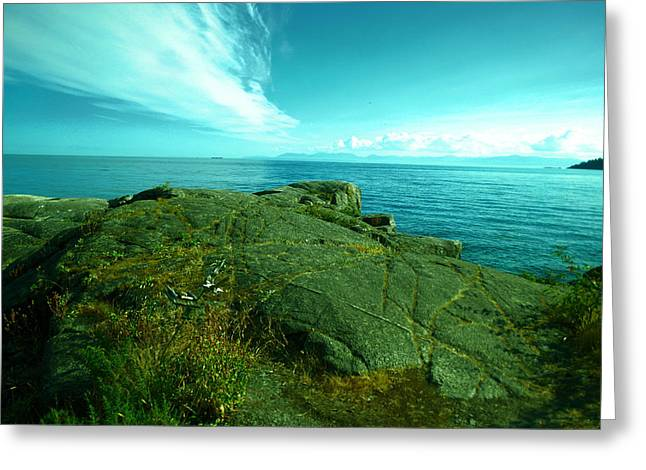The Sunshine Coast Near Seachelt Greeting Card by Jeff Swan