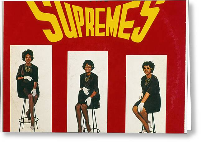 The Supremes Album, 1964 Greeting Card