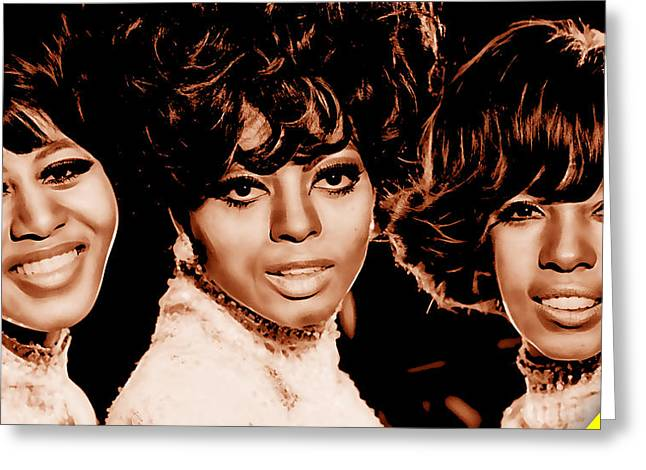 The Supremes Collection Greeting Card