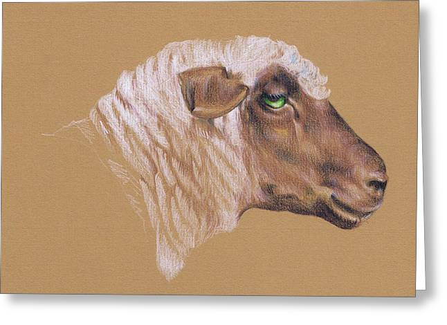 The Surly Sheep Greeting Card