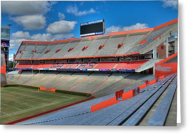 The Swamp - North End Zone Greeting Card