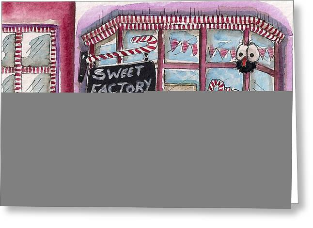 The Sweet Factory Greeting Card