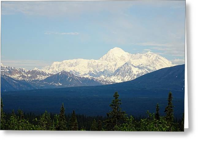 The Tallest Mountain In The World Greeting Card