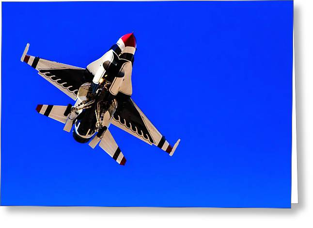 The Team Usaf Thunderbirds Greeting Card