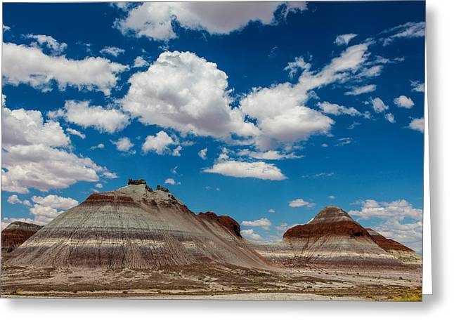 The Tepees Greeting Card by James Marvin Phelps