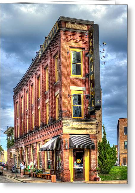 The Terminal Brewhouse Stong Building Chattanooga Tn Greeting Card
