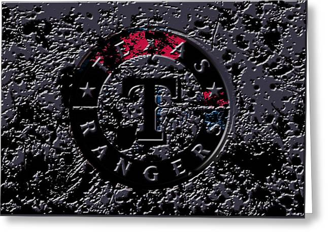 The Texas Rangers 1a Greeting Card by Brian Reaves