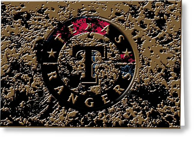 The Texas Rangers 1e Greeting Card by Brian Reaves
