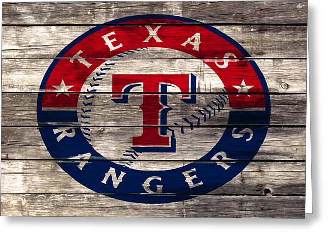 The Texas Rangers 4a Greeting Card by Brian Reaves