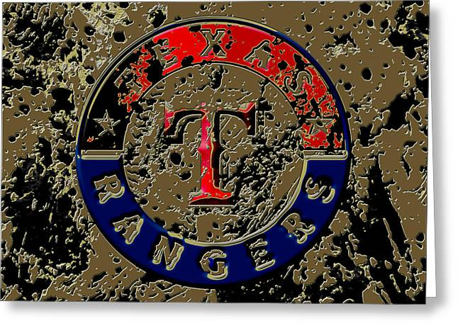 The Texas Rangers 6a Greeting Card by Brian Reaves