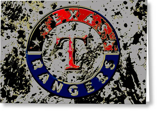 The Texas Rangers 6b Greeting Card by Brian Reaves