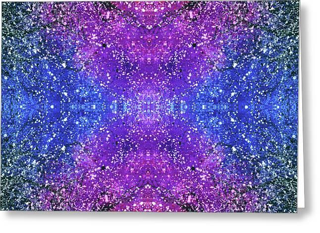 The Third Eye Activation #1501 Greeting Card by Rainbow Artist Orlando L aka Kevin Orlando Lau